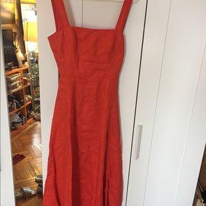 Reformation mid length summer dress